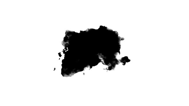 Black spot dripping Dripping Ink on white background paper texture stock videos & royalty-free footage