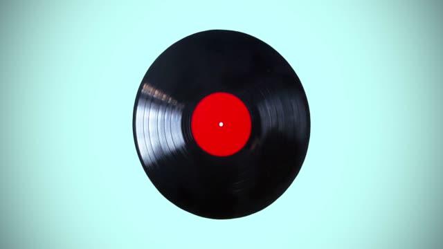 Black vinyl record lp album disc loop