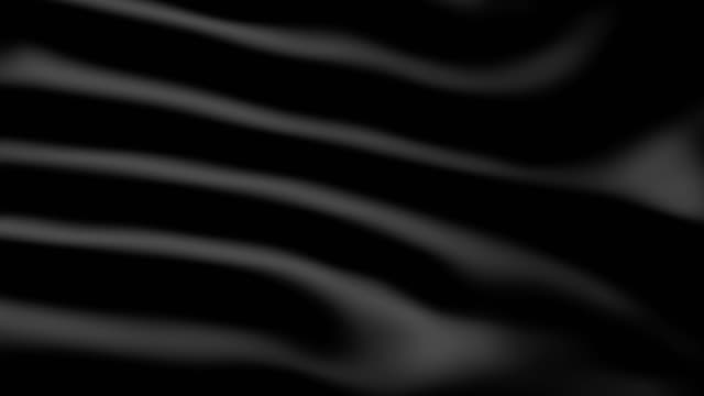 a black wavy 3d fabric. - seta video stock e b–roll