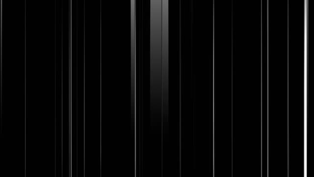 Black White Background with Changing Lines and Reflections Black White Background with Changing Lines and Reflections, Seamless Looped 3d Animation, 4K refraction stock videos & royalty-free footage