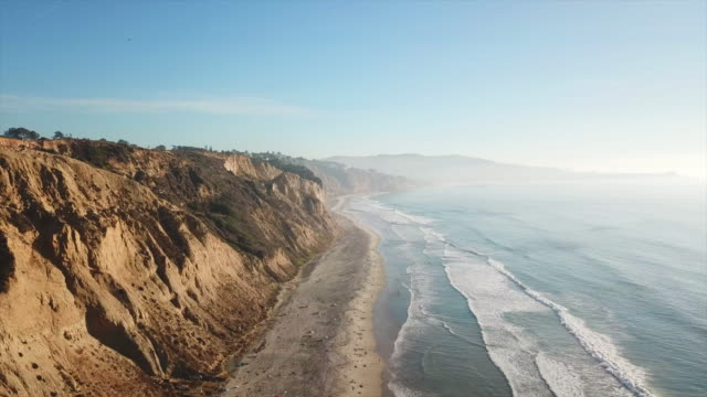 blacks beach - california usa - aerial beach stock videos & royalty-free footage