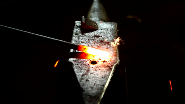 blacksmith at work video