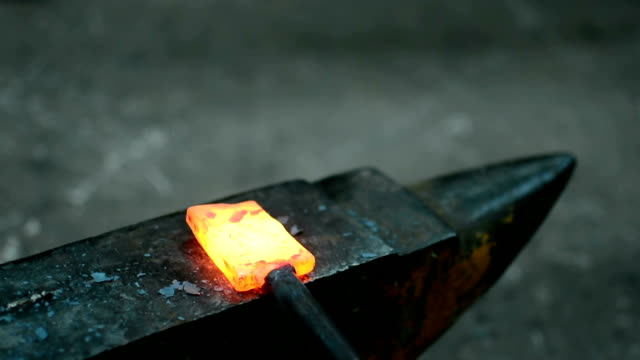 blacksmith at work blacksmith at work anvil stock videos & royalty-free footage