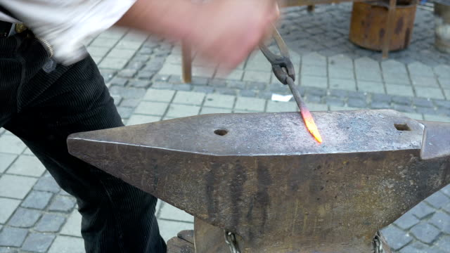 Blacksmith Hammers Iron video