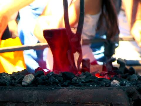 blacksmith shop - {{searchview.contributor.websiteurl}} stock videos & royalty-free footage