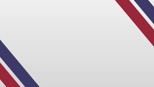 vidéos et rushes de blank 4th of july theme background graphics (en) - patriotisme