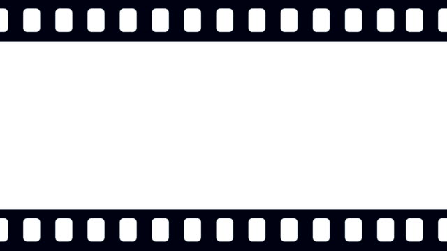 leere kamera filmrolle scrollen nach rechts im hintergrundanimation - negativ bildart stock-videos und b-roll-filmmaterial