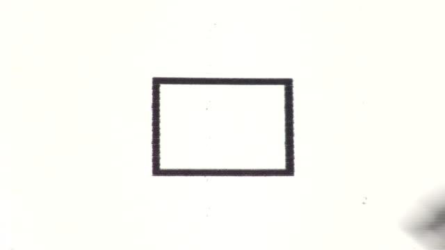 Blank check box - HD video