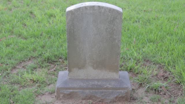 Blank Tomb Stone video