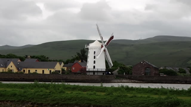 Video Blennerville Windmill is a tower mill in Blennerville, Co. Kerry, Ireland