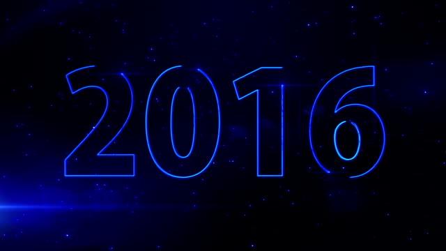 Bleu light beam 2016 video