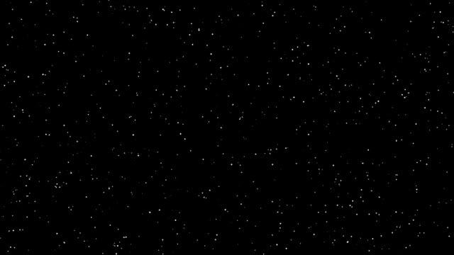 Blinking stars animation video
