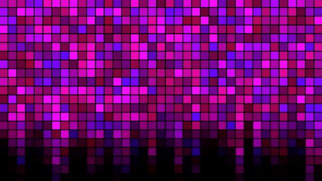 Blinking Tiles Background - Loop Pink video