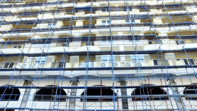 block of flats, construction video