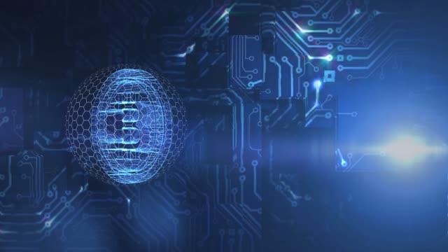 blockchain bitcoin - rivoluzione industriale video stock e b–roll