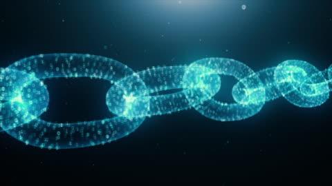 blockchain kryptowährung animierte fliege - blockchain stock-videos und b-roll-filmmaterial
