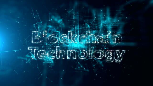 Blockchain, Fintech Typo