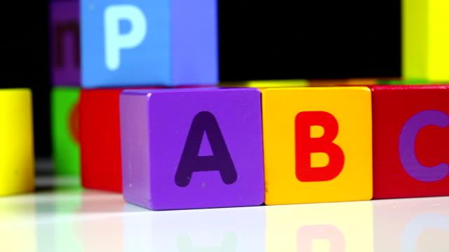 Blocchi di ABC - video
