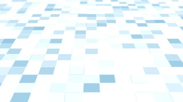 Blocky Corporate Background Loop video