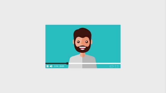 blogger beard man video loved it and like blogger beard man video loved it and like animation hd lighting technique stock videos & royalty-free footage