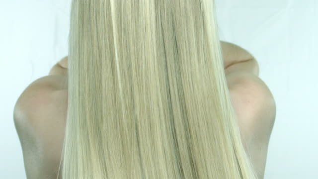 blond hair video