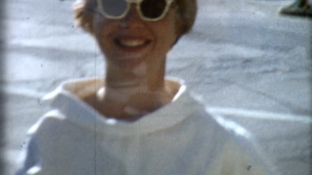 Blonde In Shades 1950's video