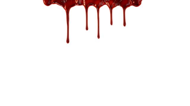 stockvideo's en b-roll-footage met blood dripping - bloed