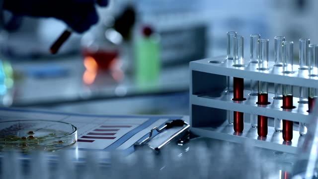 Blood sample video