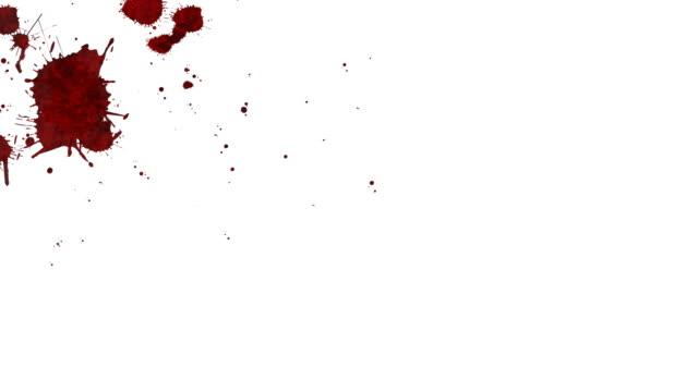 stockvideo's en b-roll-footage met blood splatter - bespatterd