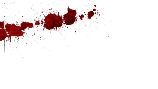 vidéos et rushes de taches de sang - sang