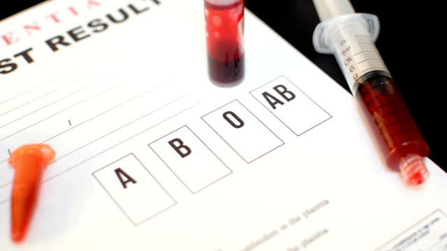 blood bank tests and methods
