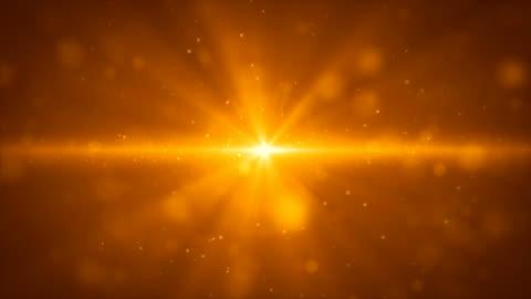 parlayan altın ışık şerit ve parçacıklar arka plan hareket çiçek - işıldama stok videoları ve detay görüntü çekimi