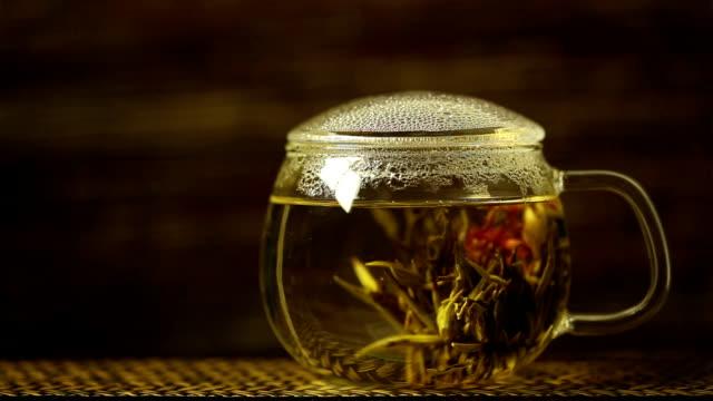 Blossoming Tea. video
