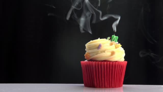 Blow Candle On Cup Cake video