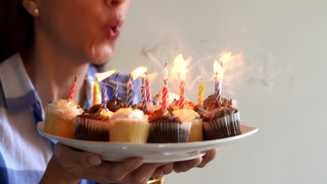 Blowing out Candles video