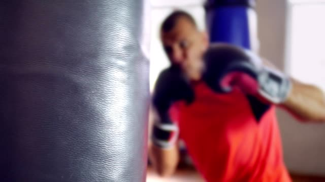 Blows to Training bag video