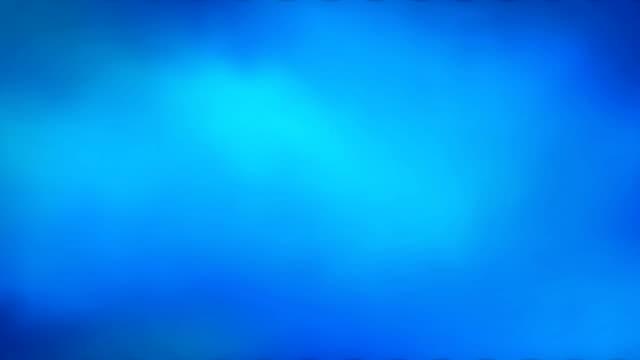Abstrait bleu dégradé.  vidéo de 4k - Vidéo