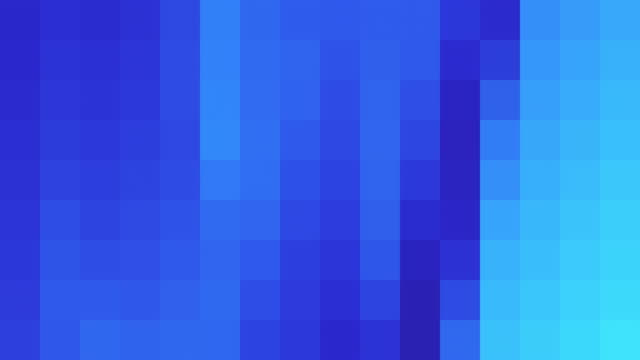 Blue Abstract Pixelated Background
