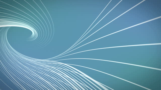 Blue Abstract Shapes Wavy Backgrounds Loopable video