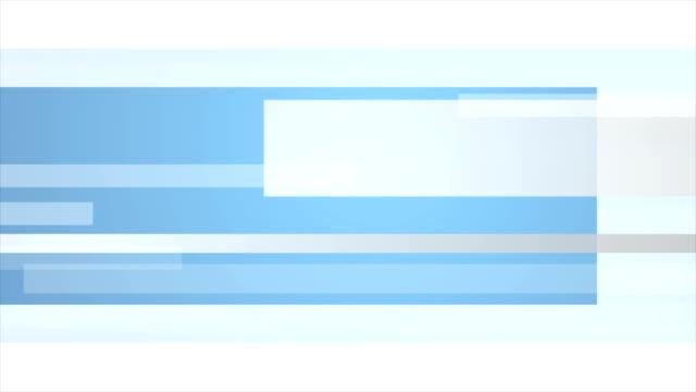 vidéos et rushes de animation vidéo minimale tech bleu et gris - gris