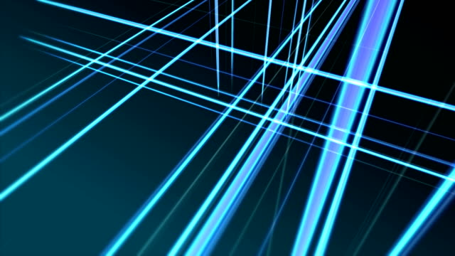 Blue animated background with vertical and horizontal stripes video