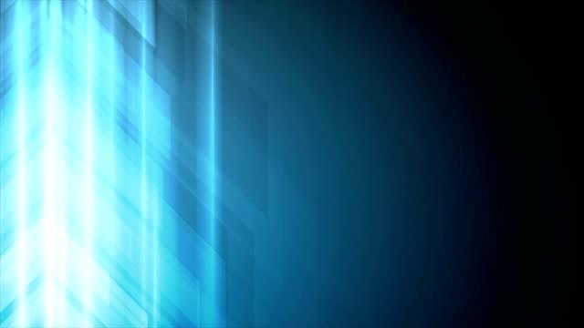 stockvideo's en b-roll-footage met blauwe pijlen abstract technologie video animatie - pijlbord