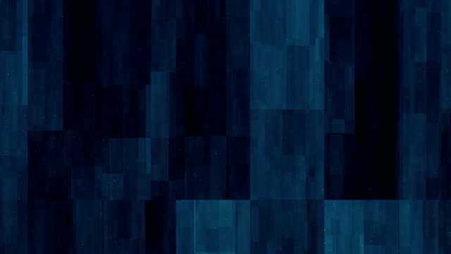 Blue Blocks Abstract Background Loopable 4K video