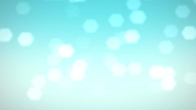 vídeos de stock, filmes e b-roll de blue efeito bokeh lens flare - dance music
