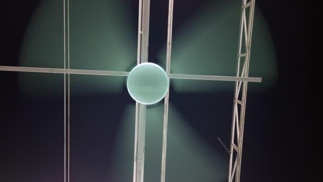 blue Ceiling Fan
