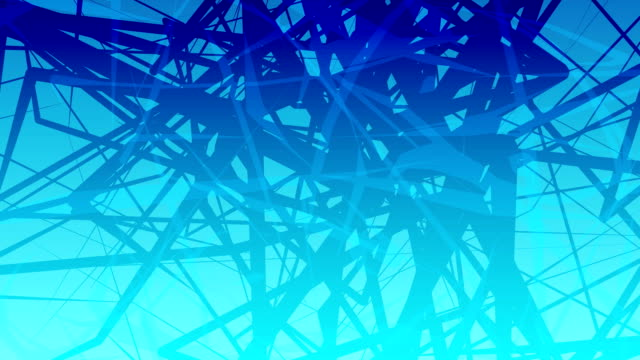blu caos - cavo d'acciaio video stock e b–roll