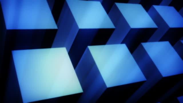 Blue Cubes video