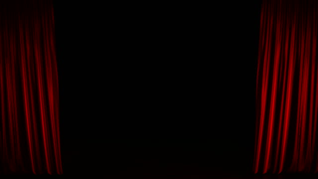 vidéos et rushes de rideaux bleu s'ouvrent en résolution 4k - rideaux
