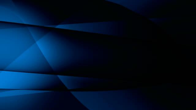 青い暗い刃抽象的な背景、シームレスなループ。バージョン 5 から 10 へ - 連続文様点の映像素材/bロール