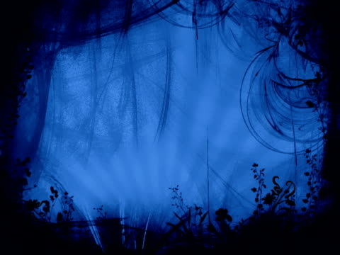 Blue Dark forest